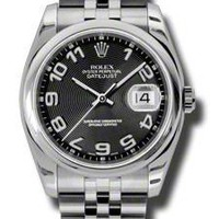 Rolex - Datejust 36mm - Steel - Domed Bezel