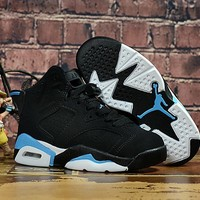 Air Jordan Retro 6 GS UNC Kid Basketball Shoes - Best Deal Online