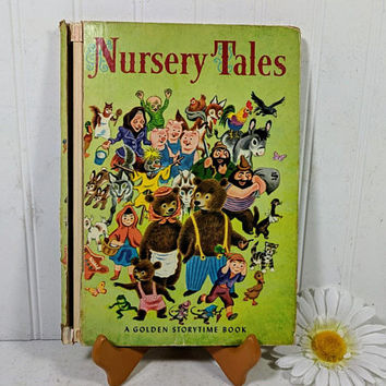Nursery Tales A Golden Storytime Book 1965 Edition Golden Press Edited by Elsa Jane Werner Illustrated by Tibor Gergely 28 Classic Stories
