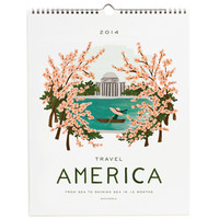 Rifle Paper Co. - 2014 Travel America Calendar
