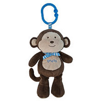 Babies R Us Plush Monkey with Sound and Light - Brown