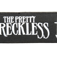 """THE PRETTY RECKLESS Embroidered Iron On Sew On Patch 4.1""""/10.5cm"""