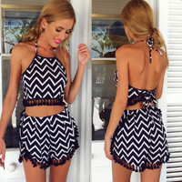 Detailed Jazzy Two-Piece