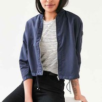 Silence + Noise Zoey K.O. Shorty Bomber Jacket