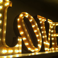 Vintage Marquee Lights  Choose any letter by VintageMarqueeLights