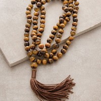 High-Energy Tigers Eye Mala