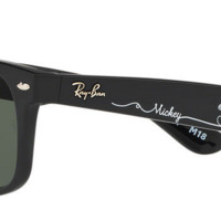 New Ray Ban Disney Parks Limited Edition 2018 Mickey Sunglasses Wayfarer M18