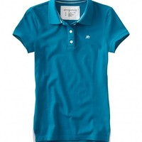 Womens AEROPOSTALE A87 3-Button Placket Polo Shirt NWT #4442