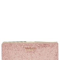 kate spade new york 'glitter bug - stacy' snap wallet | Nordstrom