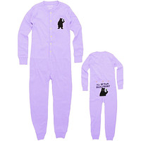Bear I'll Be Your Huckleberry Toddler Union Suit