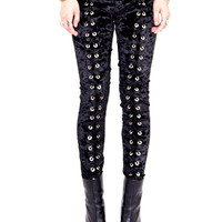 PRE-ORDER: Hell on Wheels Grommet Leggings
