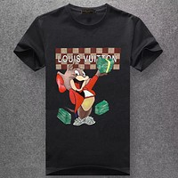 Louis Vuitton LV  Fashion Casual Short Sleeve Top Tee