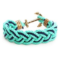 Boatyard Skipjack Turk's Head Knot Bracelet by Kiel James Patrick