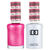 DND - Gel & Lacquer - Pink Tulle - #684