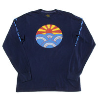Rising Sun LS Tee printed front and back (M only)