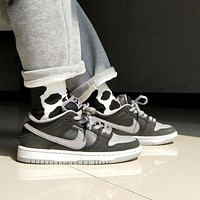 Nike SB sneakers shadow gray low-top sneakers men and women fashion casual sports skateboard shoes casual shoes