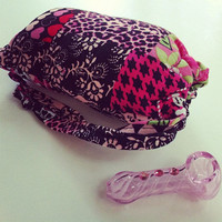Custom Small SCENTED Pipe Pouch by SmokingGirlCouture on Etsy