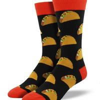 Socksmith Tacos Black Socks