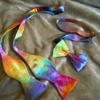 Tie dye Boys and Mens sizes Bowtie