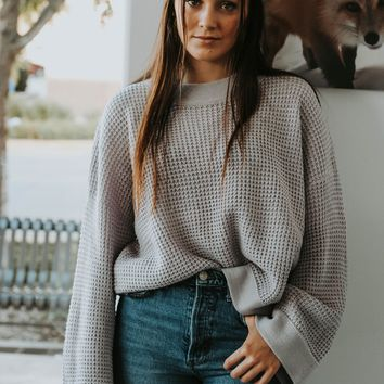 First Day of Fall Sweater (Lavender)