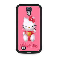 Hello Kity Love Suit Samsung Galaxy S4 Case