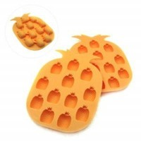 Pineapple Shape Novelty Ice Cream Maker Mold Tray Cube Drink DIY Party Bar Home:Amazon:Kitchen & Dining