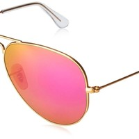Cheap Ray-Ban Unisex-Adult Aviator Large Metal Non-Polarized Aviator Sunglasses 58 mm outlet