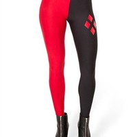 Anvoro Women's Designed Digital Print Sexy Stretch Leggings(Harley Quinn),One Size,Fits XS to M