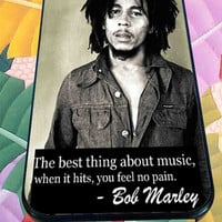 quotes of bob marley about love for iPhone 4/4s, iPhone 5/5S/5C/6, Samsung S3/S4/S5 Unique Case *76*