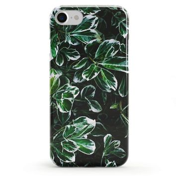 Leaves Phone Case, Transparent iPhone Case, Samsung case, iPhone 6s case, iPhone 7 case, iPhone 7 plus case, iPhone 8 case, iPhone X case