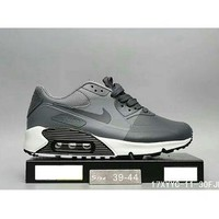 Tagre™ Nike MAX 90 ULTRA AIR and waffle new men and women fashion casual shoes F-HAOXIE-ADXJ Gray