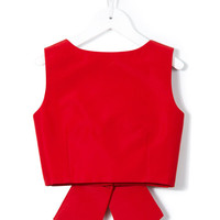 Little Bambah Diana Backless Bow Top - Farfetch