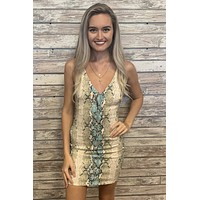 All For You Dress- Teal