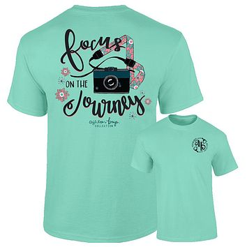 Southernology Ashton Brye Focus on the Journey Comfort Colors T-Shirt