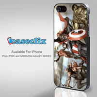 Avengers superheroes for smartphone case