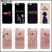 You're My Person For Fundas iPhone 7 5 SE 5S 6 6S Plus Greys Anatomy TPU Soft Silicone Case Cover New Arrivals Original Case