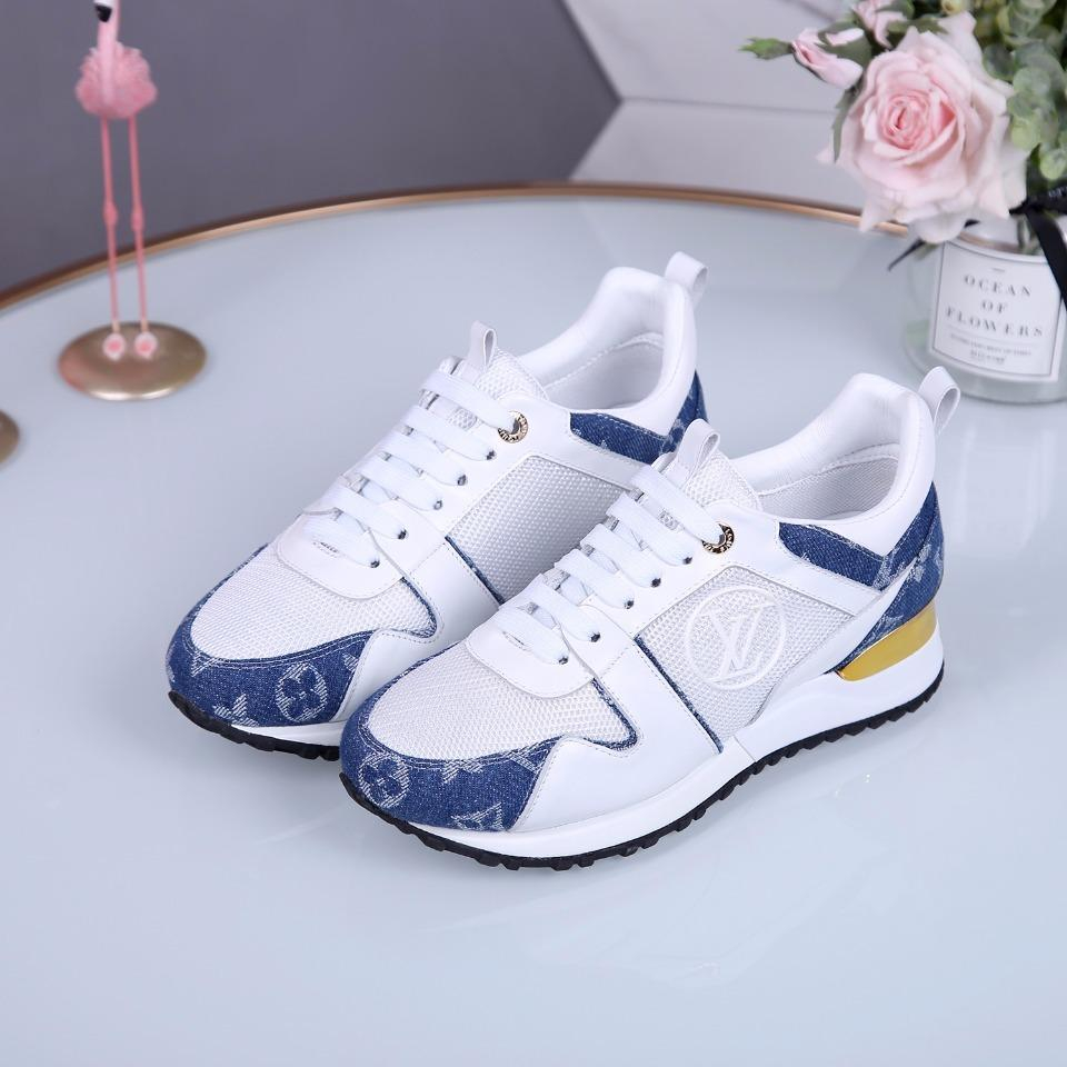 Image of lv louis vuitton women casual shoes boots fashionable casual leather women heels sandal shoes 90
