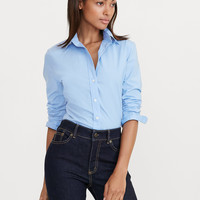 STRETCH COTTON SHIRT