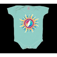 Grateful Dead Sunshine Lightning Infant Snapsuit