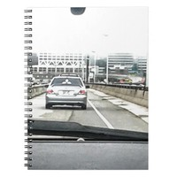 Foggy Bridge Notebook