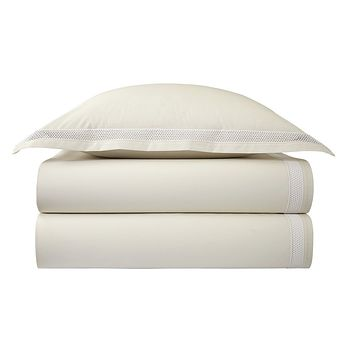 Oriane Nacre Bedding by Yves Delorme