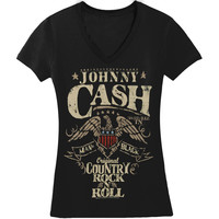 Johnny Cash  Country Rock N Roll Girls Jr Black