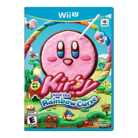Kirby and the Rainbow Curse Wii U Video Game