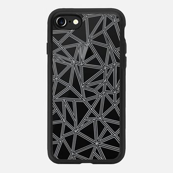 Abstract New Grey Transparent iPhone 7 Case by Project M | Casetify
