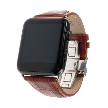 Leather Band with link adapter