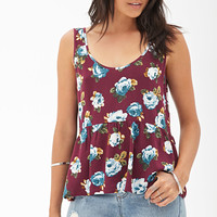 Flared Scoop Back Top