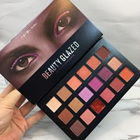 18 Color Shimmer Matte Diamond Glitter Desert Dusk Palette Tutorial Eyeshadow Palette Makeup Eye shadow Palette Cosmetics