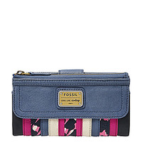 Fossil Emory Patchwork Clutch Wallet