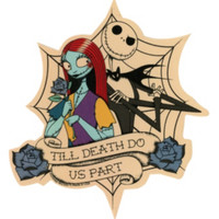 The Nightmare Before Christmas Till Death Do Us Part Sticker