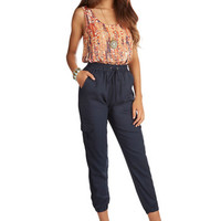 ModCloth Cropped Solid Solution Pants